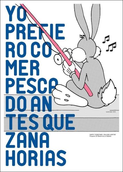 Bugs Bunny, by Laura Llopiz (Cuba)