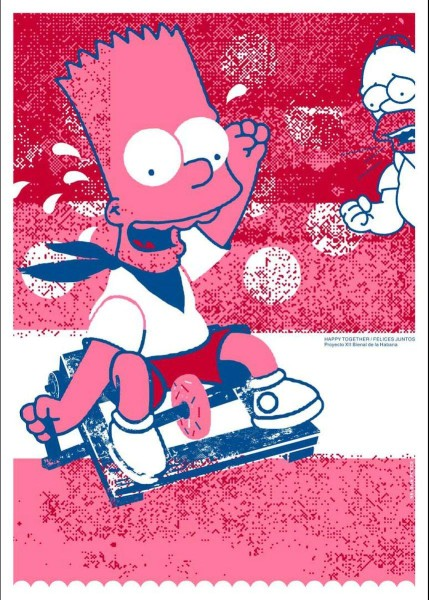Bart Simpson, by Nelson Ponce (Cuba)
