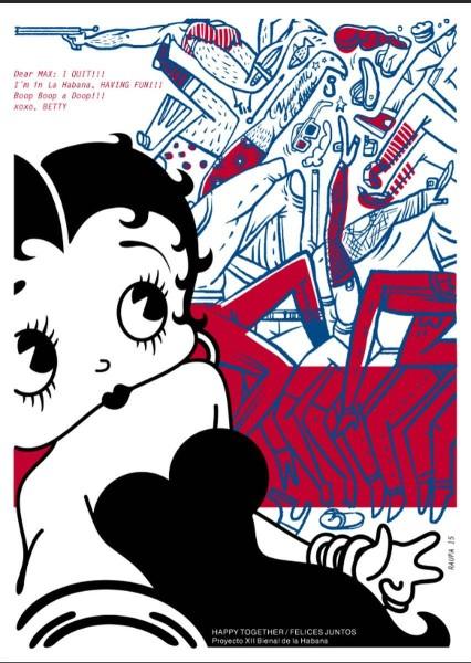 Betty Boop, by Raul Valdés /Raupa (Cuba)