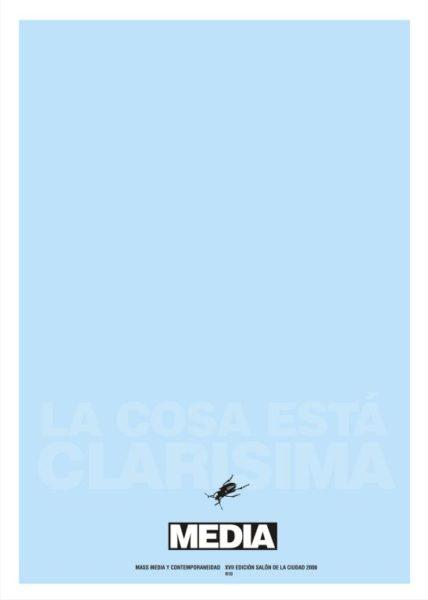 Media, by Jorge Rodriguez Diez (R10), silkscreen, 2016